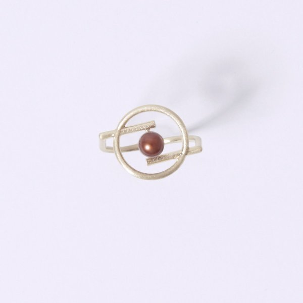 Metalepsis Projects Volten Ring - Pearl