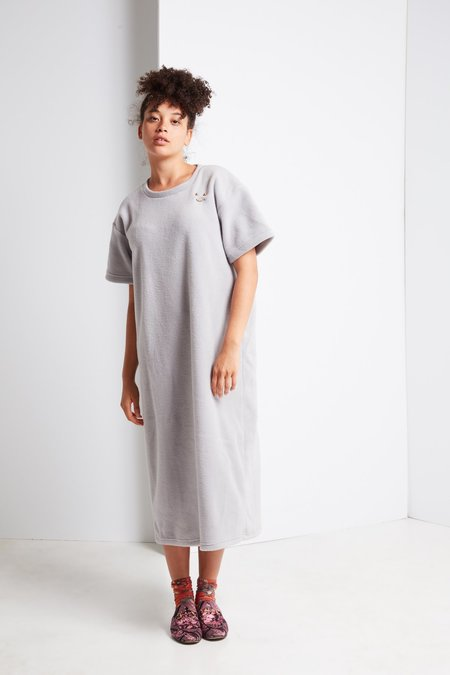 FAUX/real Snuggle Long Shirt with Gold Hardware