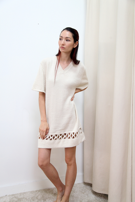 Kordal Interlock Dress - Cream