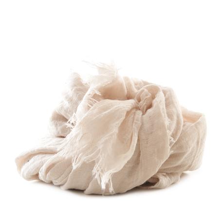 Botto Giuseppe Ivory Silk Cashmere Scarf by Botto Giuseppe