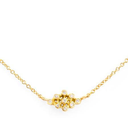 Satomi Kawakita N4703W Ikat Diamond Necklace