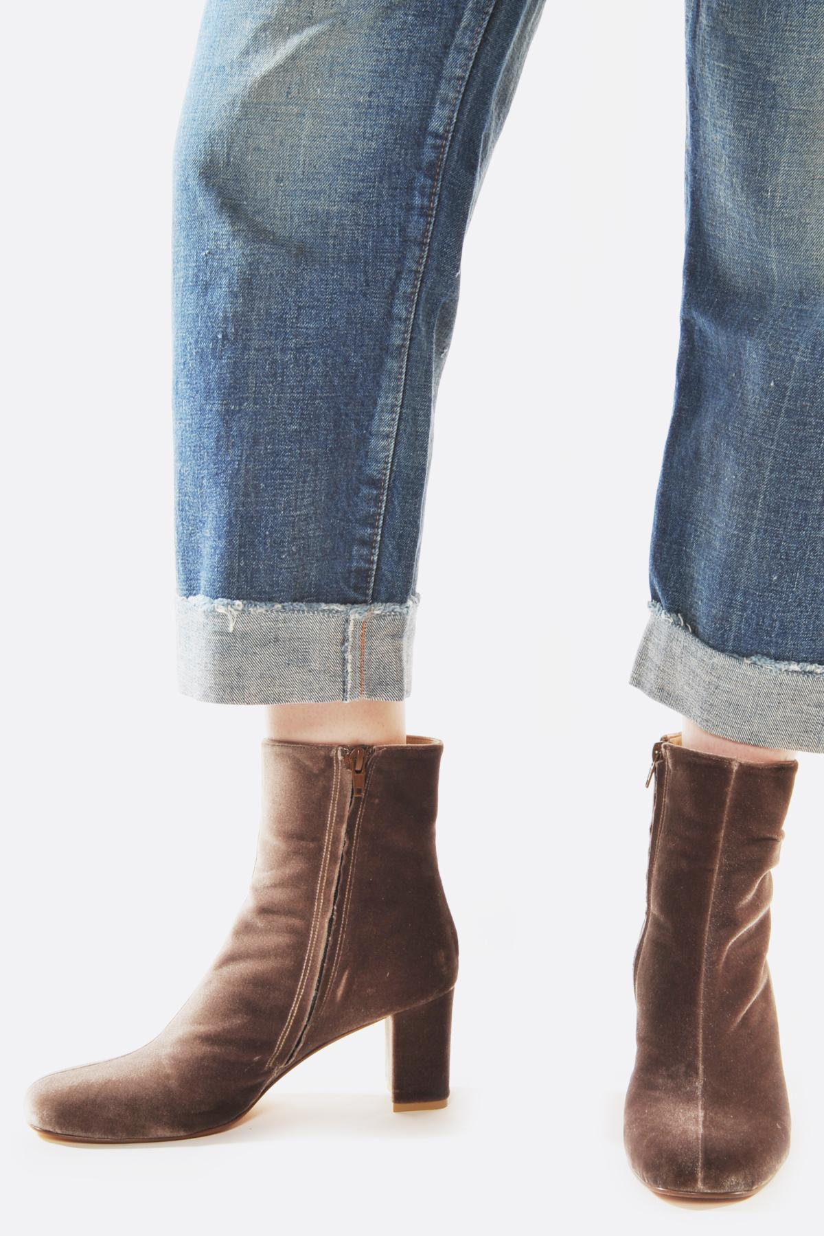 MARYAM NASSIR ZADEH Velvet Agnes Boots 1A7iv