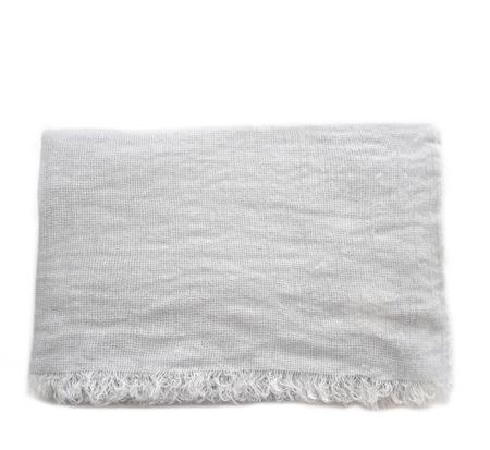 Destin Ice Grey Lally Cashmere Wrap