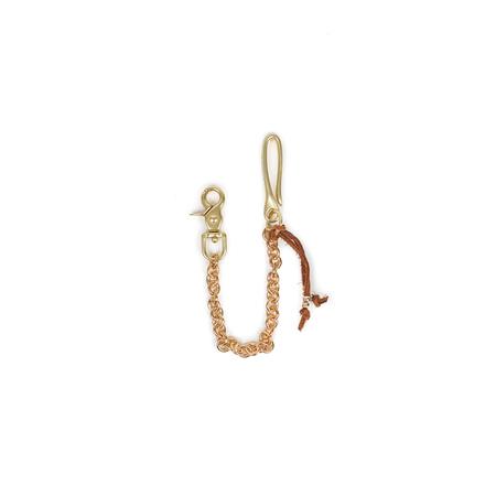 Maple Wallet Chain - Brass