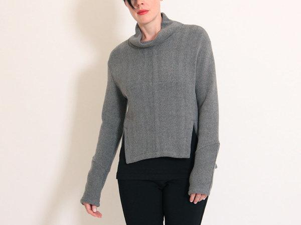 Eve Gravel Ono Turtleneck Sweater - Smoke