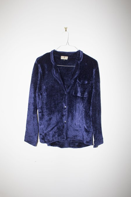 Giu Giu Sabrine Pajama Top in Midnight