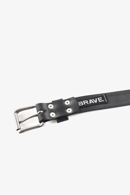 Brave Leather Classic Belt in Black Milled