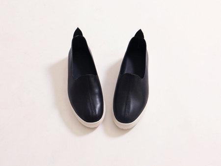 Vayarta Platform Sneaker - Black/White