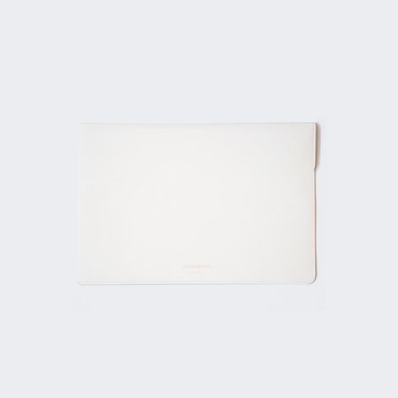 Woman by Common Projects Dossier in Saffiano Leather - Off White