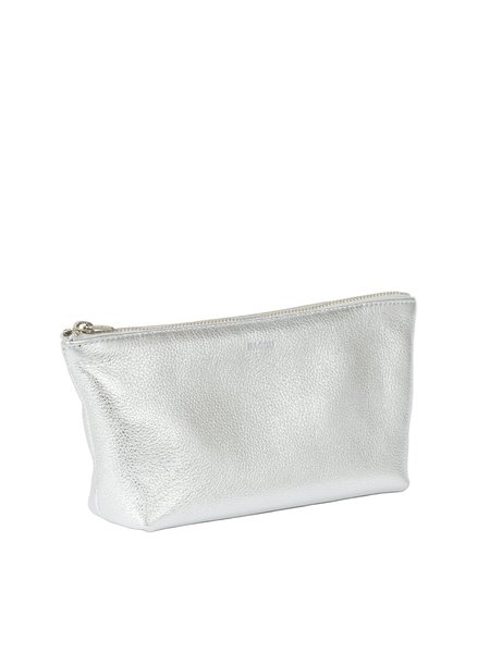 Baggu Small Cosmetic Pouch - Silver