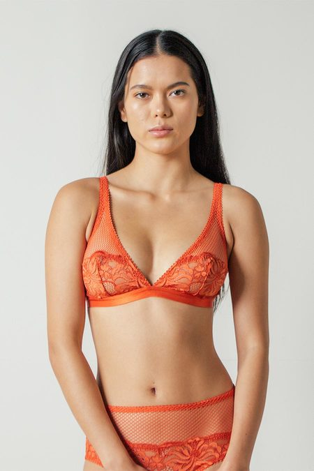 Lonely Lena Softcup Bra in Paprika
