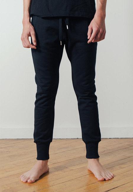 The White Briefs Wat Sweatpants in Black