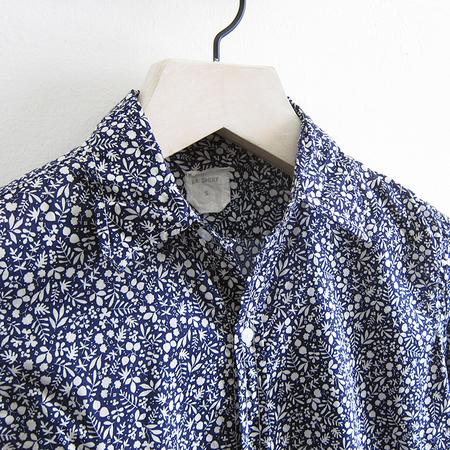 P.S. Shirt Long Boy Shirt - Navy Fern