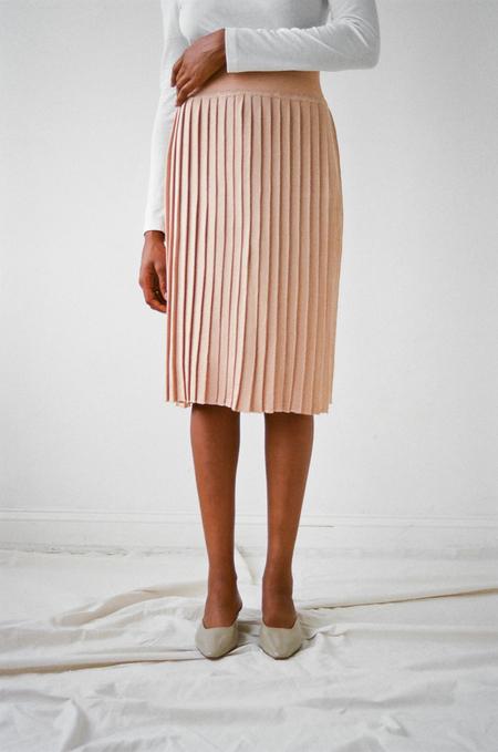 Hesperios Giselle Sparkle Pleated Skirt