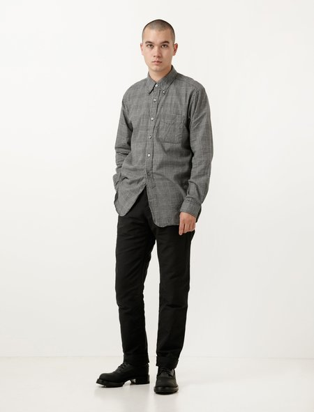 Engineered Garments Ground Pant - Black Cotton Double Cloth