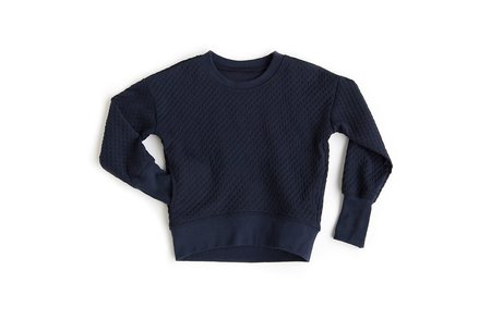 Kids Telegraph ve PKT Sweatshirt - Midnight