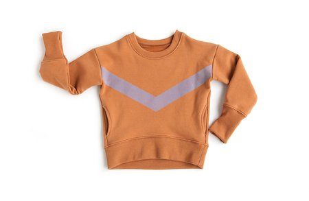 Kids Telegraph Ave PKT Sweatshirt - Terracotta