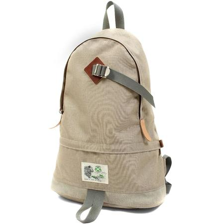 Garbstore x Sanpak Walkabout Tear Drop Rucksack - Oat