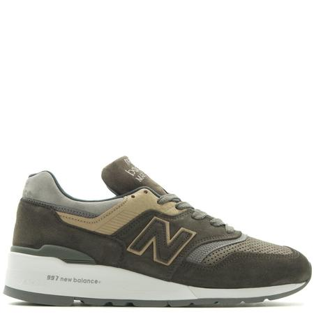 NEW BALANCE M997FGG MADE IN THE USA GREY / GREEN