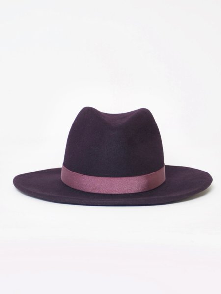 Yestadt Millinery Nomad Packable - Aubergine