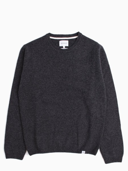 Norse Projects Sigfred Lambswool - Charcoal
