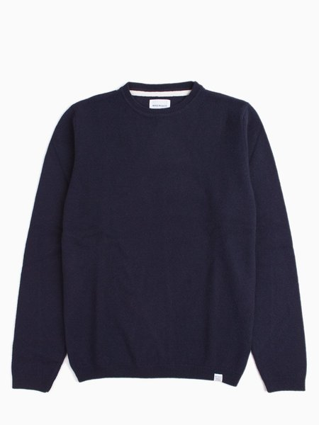 Norse Projects Sigfred Lambswool - Navy