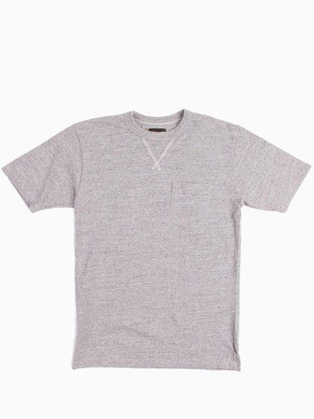 National Athletic Goods V Pocket Tee Mock Twist - Mid Grey