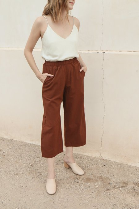 Me & Arrow Wide Pants in Canyon