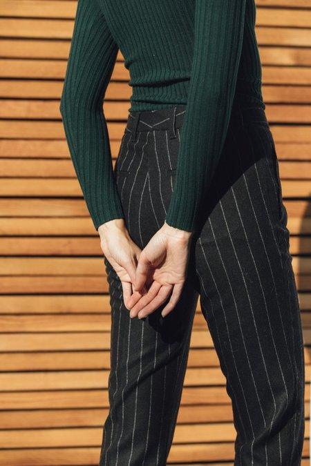 Hope Lobby Trouser - Black Stripe