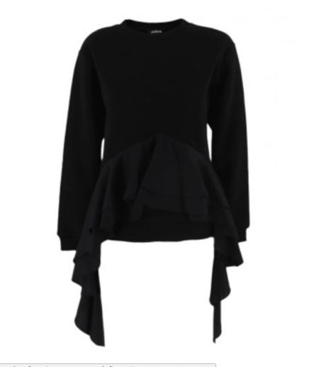 Asli Filinta Sweatshirt With Ruffle