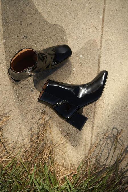 LOQ Lazaro Patent Leather Boots