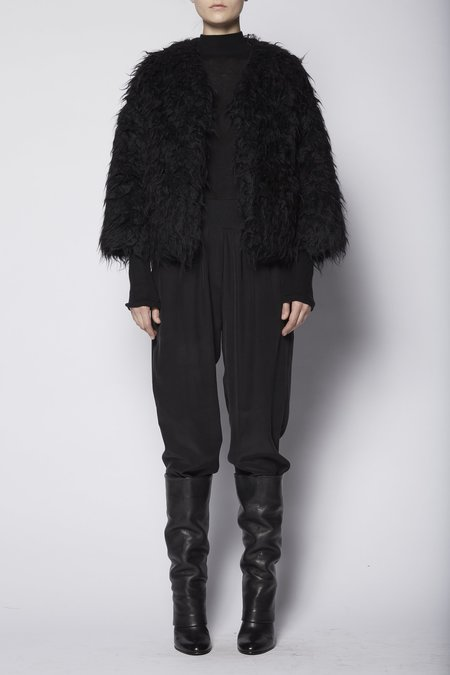 Ma'ry'ya Fur Jacket