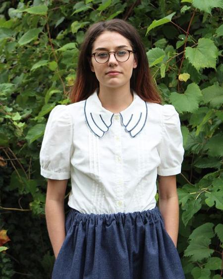 Samantha Pleet Dove Shirt