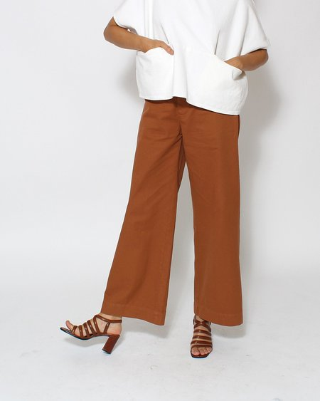 Esby Val Twill Pant in Clay