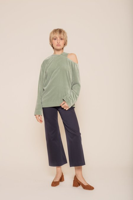 Nomia Asymmetrical Cutout Top