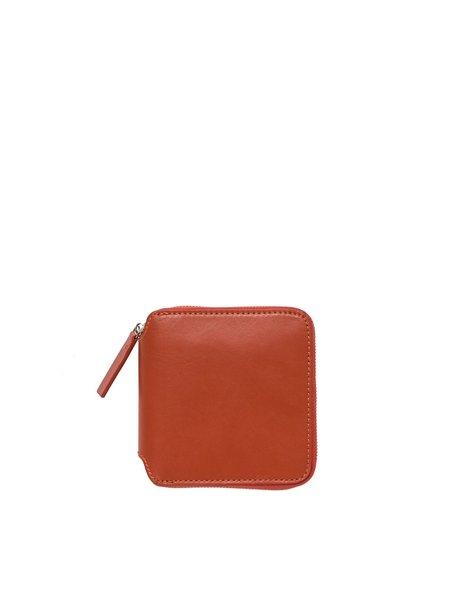 Baggu Square Wallet - Brick Red