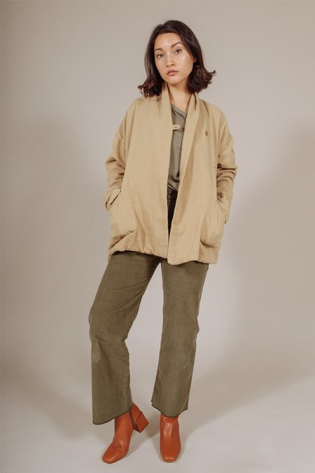 Nico Nico Rayne Cardigan in Tan