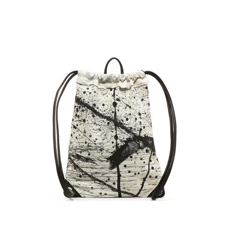 Graf Lantz Arno Backpack Splattered Denim