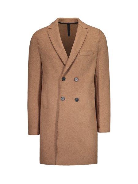 Harris Wharf London Boxy DB Coat Alpaca and Wool