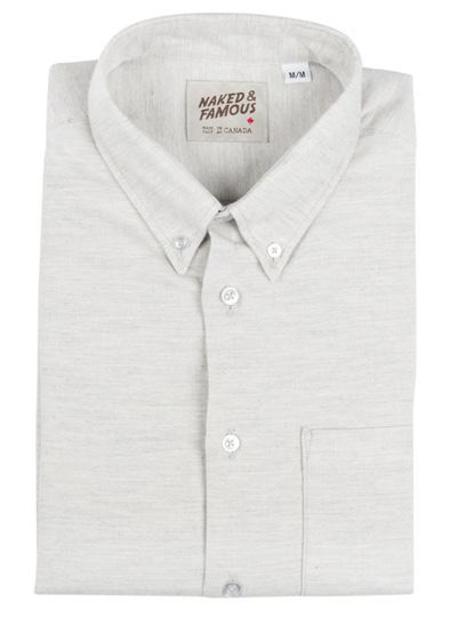 Naked And Famous REGULAR SHIRT SOFT YARN DYED TWILL