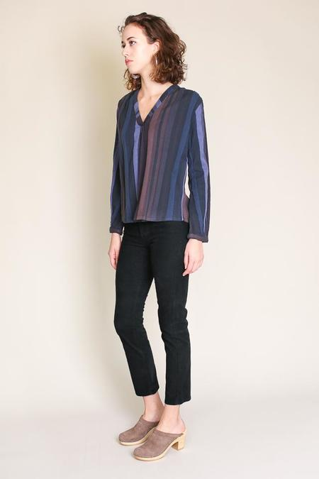 AG Jeans Isabelle Cord in Immersed Black