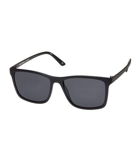 Le Specs Matte Black Master Tamer Sunglasses