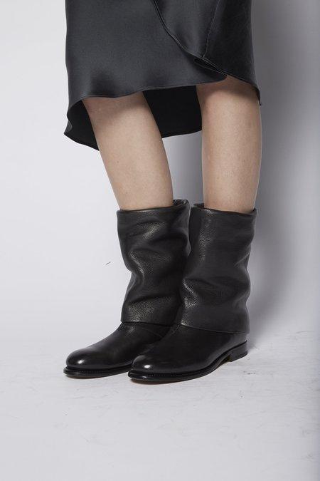 Silvano Sassetti Cropped Draped Boot