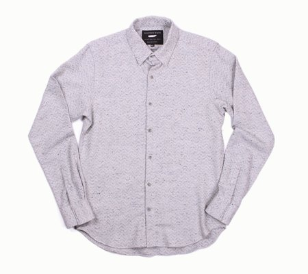 18 Waits The Dylan Long Sleeve Shirt  - White Out