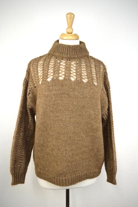 Sita Murt Crochet Neck Sweater