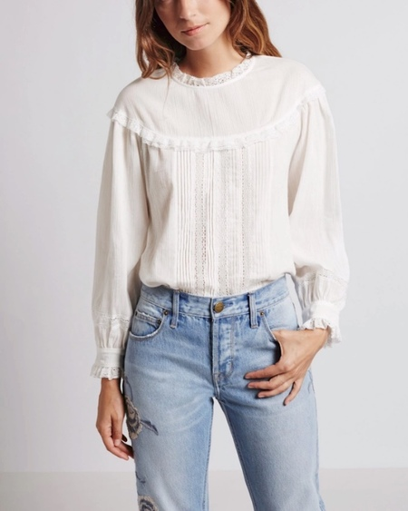 Current/ Elliott Whittier Blouse