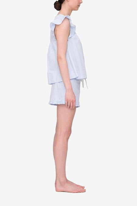 The Sleep Shirt Flounce Top and Ruffle Short Set