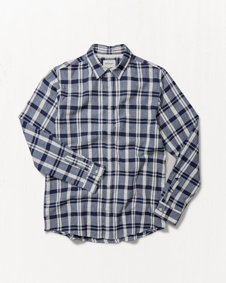Norse Projects Villads Textured Check