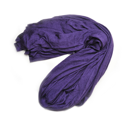 Botto Giuseppe Purple Cashmere and Silk Blend Stole