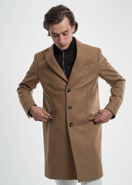 Harmony Camel Magnus Wool Coat